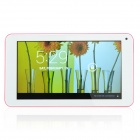 "RK3026 7"" Dual Core Android 4.2 Tablet PC w/ 512MB RAM, 4GB ROM, Wi-Fi - Deep Pink + White"