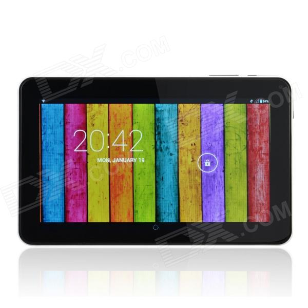 "GT90H 9.0 ""Dual Core Android 4.2 Tablet PC w / 512 Mo de RAM, 8 Go de ROM, Wi-Fi - Blanc"