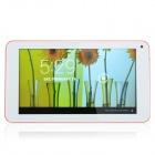 "RK3026 7.0"" Dual Cover Android 4.2 Tablet PC w/ 512MB RAM, 4GB ROM Dual Core, Wi-Fi - Red + White"