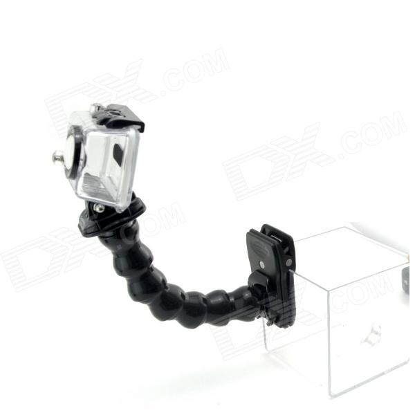 PANNOVO Quick Release Plate Clamp Flexible Mount w/ Magic Joint Jaws for Gopro Hero 4/ 3+/3/2/SJ4000 цена и фото