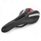 Replacement Cycling Bicycle PU Leather Saddle - Black
