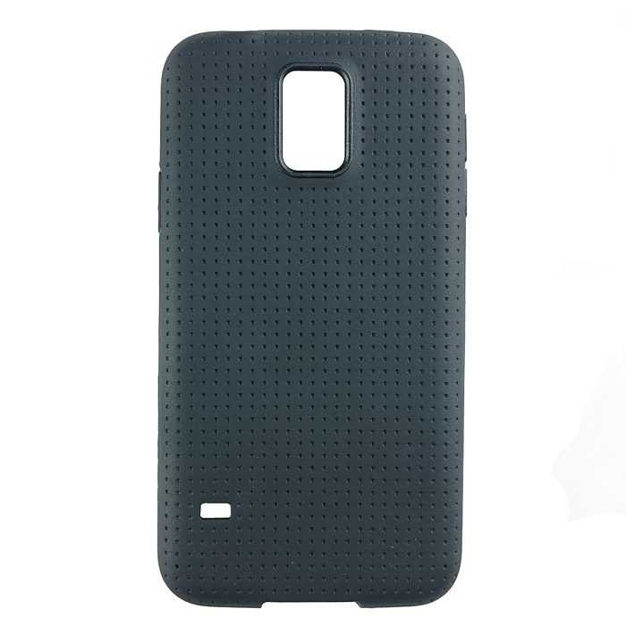 S5-01 TPU Protective TPU Back Case for Samsung Galaxy S5 - Black replacement back camera circle lens for samsung galaxy s5 g900 black