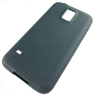 S5-01 TPU Protective TPU Back Case for Samsung Galaxy S5 - Black