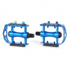 Bicycle Anti-slip Aluminum Alloy Pedals - Deep Blue (2 PCS)