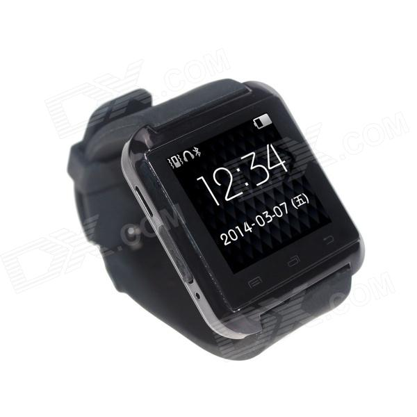 "Uwatch U8 usable 1,48"" pantalla táctil Smart Watch w / Bluetooth & podómetro - negro"