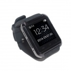 "Uwatch U8 Wearable 1,48"" tela de toque inteligente relógio w / Bluetooth & Pedometro - preto"
