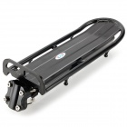 Enhanced Quick Release Aluminum Alloy Rear Shelf Rack - Black