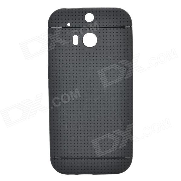 TC-01 TPU Protective Back Case for HTC ONE 2 M8 - Black teco drive inverter n310 4008 s3x 7 5hp 5500w 3 phase 380v 480v hot selling