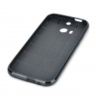 TC-01 TPU Protective Back Case for HTC ONE 2 M8 - Black