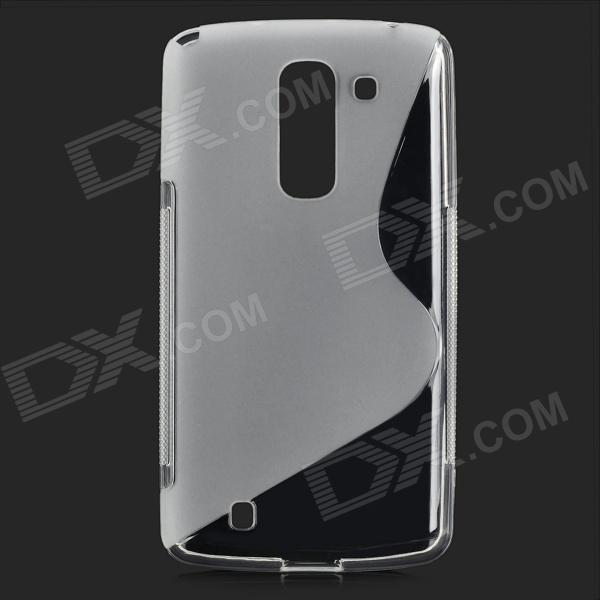 все цены на  LS-02 Simple S Pattern Protective TPU Back Case for LG G Pro2 - Translucent White  онлайн