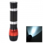 RADAR 605 Outdoor 130LM White Light XP-E LED Flashlight - Black + Red + Silver (3 x AAA / 1 x 14500)