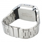 "TW810B GSM Stainless Steel Android / IOS Wrist Watch Phone w/ 1.54"" / TF / Bluetooth V3.0 - Silver"