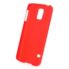Protective PC + TPU Back Case + ''U'' Shaped Stand for Samsung Galaxy S5 - Red