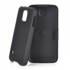 Protective ABS Back Case w/ Clip for Samsung S5 - Black