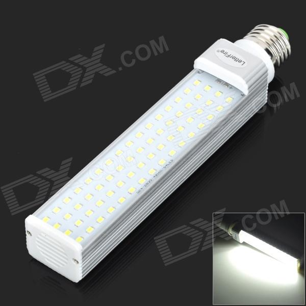 LetterFire E27 13W 900LM 6000K 64-2835 SMD LED White Light Bulb (AC 85~265V) e27 9w 760lm 6000k 30 smd 2835 led white light bulb ac 85 265v