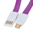 M01 Magnetic Micro USB Male to USB 2.0 Male Data/Charging Cable for Samsung / Google / Sony (22.5cm)