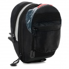 Multi-function Bike Cycling Saddle Bag - Black