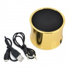 K3 Mode Bluetooth V3.0 3,5 mm Speaker w / FM / micro - or + noir