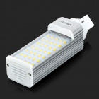 LetterFire G24 7W 500LM 3000K 35-SMD 2835 LED Warm White Light Bulb (AC 85~265V)