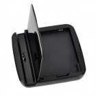 Compact 2-in-1 Charging Station w/ Battery Charger for Samsung S5 - Black