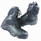 Outdoor High Hiking Shoes - Black (Size-40)