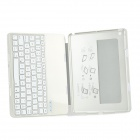 F5/F5S Bluetooth V3.0 78-Key Dimmable LED Keyboard for IPAD AIR - Silver