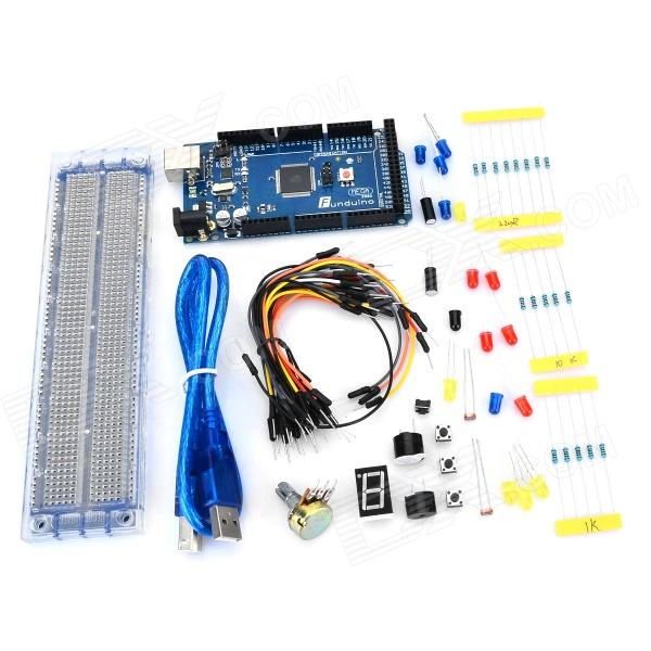 Portable Experiment Basic Learning Tools Kit (Works with Official Arduino Boards)