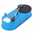 Relliance EC009L Mini Record to MP3 Player / Converter w/ USB / 3.5mm - Light Blue