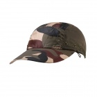 Outdoor UV Protection Cotton Large Brimmed Hat w/ Neck Protection - Camouflage