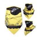 Outdoor UV Protection Cycling Mask w/ Neck Protection / Mask-Desert - Yellow