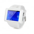 "XH-2S GSM Android 4.1.1 Wrist Watch Phone w/ 2.0"" / TF / Bluetooth / GPS / Wi-Fi - White"