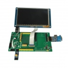 "Waveshare 7"" LCD + DVK521 w/ I2C SPI VGA interface + Camera + FRAM + DataFlash for Cubieboard"