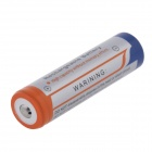 3.7V 1400mAh Rechargeable Lithium Ion 18650 batterie w / Protection Board - Gris + Orange + bleu