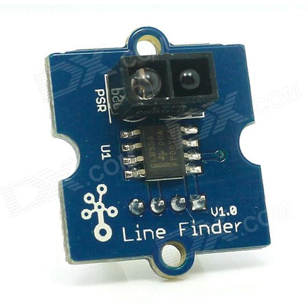 Seeedstudio Grove Line Finder Grove Compatible Interface Indicator LED Module - Blue + White + Black