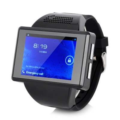 GSM Android 4.1.1 Wrist Watch Phone w/ 2.0