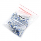 MaiTech 10 Kinds of Common Specifications Adjustable Resistor Pack - Blue + White (50 PCS)