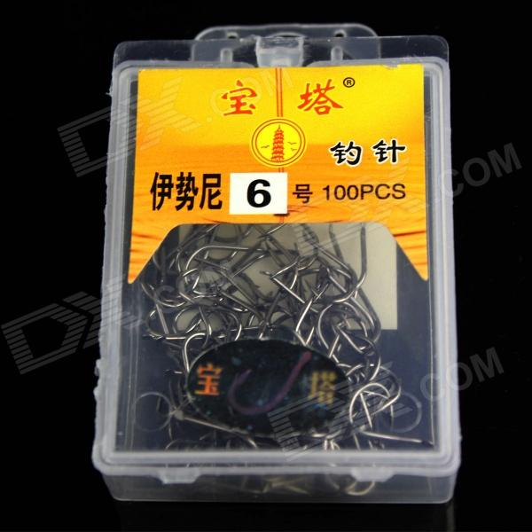 6 Fishing Pin Fishhook - Silver Grey (100 PCS)Form  ColorSilverQuantity100 DX.PCM.Model.AttributeModel.UnitMaterialIronFishing Site River,Pool,Sea,Surf Fishing,Reservoir,Stream,PondTypeFishing HooksFishing Line Capacity-Fishing Line Type-Line Diameter- DX.PCM.Model.AttributeModel.UnitCable Length0 DX.PCM.Model.AttributeModel.UnitPacking List100 x Fishing Pin<br>