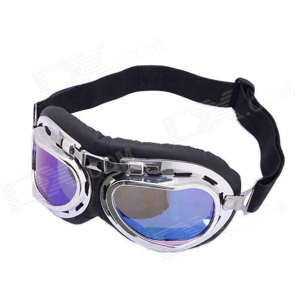 UV Protection Non-Glare PVC Goggles For Sports Cycling - Colorful - deals - deals