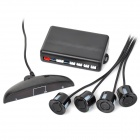 LED Car Back-Up/Parking Sensor Radar System-Black