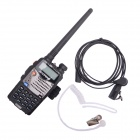 "Baofeng BF-UV5RA 1.5"" Dual-Display Dual-Band Walkie Talkie w/ Air Conducting Headphone"