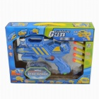 Multi-Functional Cool Toy Gun - Blue + Yellow