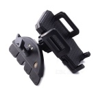 360 Degree Rotation Car CD Port Holder Stand Bracket for Phone / Navigation - Black