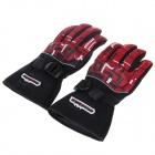 MD-14 Stylish Waterproof Warm Motorcycle Racing Full Finger Protective Gloves - (Pair / Size-L)