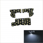 Festoon 10W 1000lm 53 x SMD 5060 LED White Light Car Roof Lamp for Honda Fit / Honda City 06~11