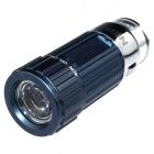 Zhishunjia Mini Car Charger Powered LED White Flashlight - Blue + Silver (4 x CR2032)