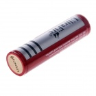 Ultra Fire 3.7V 1800mAh oppladbart Lithium Ion 18650 Batteri m / Protection Board - Rød