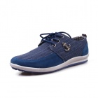 Outdoor Travel Canvas Shoes - Blue (Size 43)