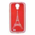 Eiffel Tower Pattern Protective Aluminum Alloy + ABS Back Case for Samsung Galaxy S4 i9500