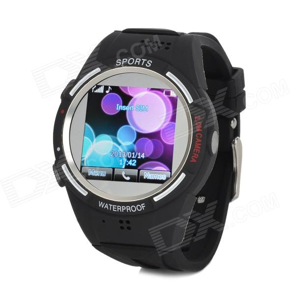 TW320 Waterproof Sports GSM Wrist Watch Phone w/ 1.5
