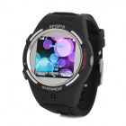 "TW320 Waterproof Sports GSM Wrist Watch Phone w/ 1.5"" / TF / Bluetooth V3.0 - Black"